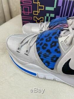 Nike Kyrie 6 EP Irving VI Vast Grey/Soar/Digital Pink/Black BQ4630-003 Size 13