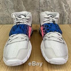 Nike Kyrie 6 VI Size 9.5 Vast Grey Soar Digital Pink Black Basketball Shoes