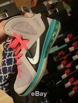 Nike Lebron 9 Elite South Beach Vnds Sz10 Og All Grey Pink Black Carbon Fiber