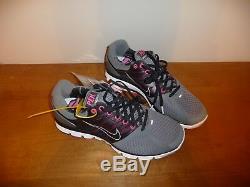 Nike Lunarglide 2 PEK Running Shoe Nano Grey/Black/Pink Flash Sample Mens Size 9