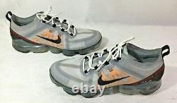 Nike Mens Air Vapormax 2019 Gray Black Pink Running Shies Size 10