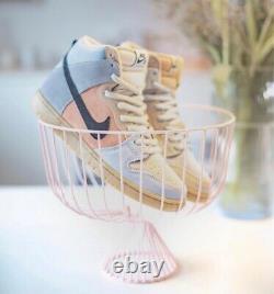 Nike Sb Dunk High Pro Easter Particle Grey/black-terra Blush New Us 10