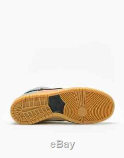 Nike Sb Dunk High Pro Easter Particle Grey/black-terra Blush New Us 6.5