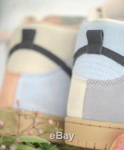 Nike Sb Dunk High Pro Easter Particle Grey/black-terra Blush New Us 8