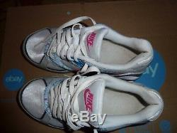 Nike Shox Heritage SI White Pink Grey Blue Black 386358 162 US Women's Size 7.5