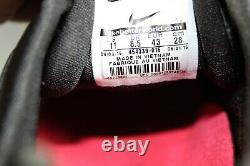 Nike Shox Junior Womens Sz 11 Black Grey Pink Running Training Shoes 454339-016