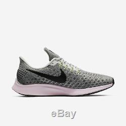 Nike WMNS Air Zoom Pegasus 35 942855-011 Women Running Shoes Grey/Black-Pink