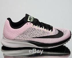 Nike Women's Air Zoom Elite 10 New Running Shoes Pink Foam Black Grey 924505-601