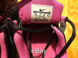 Nike Womens Shox NZ 636088 026 Black / Dark Grey Pink Blast Wmns Sz 8.5