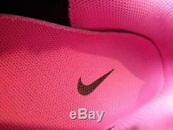 Nike Womens Shox NZ 636088 026 Black / Dark Grey Pink Sz 8.5 Authentic