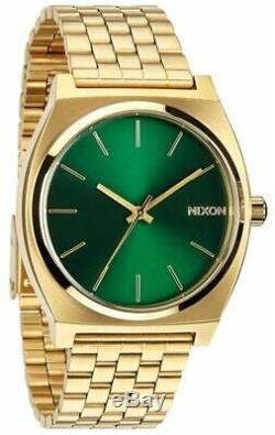 Nixon Watch Time Teller Gold / Green Sunray A045-1919