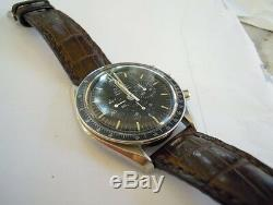 OMEGA Speedmaster crocodile strap watch band Made In Taiwan Cheergiant straps
