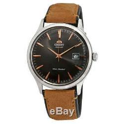 Orient Bambino Version 4 Automatic Grey Dial Men's Watch FAC08003A0