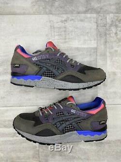 Packer Shoes x ASICS Gel-Lyte V Gortex Grey Pink Black Splash H44FK-9191 US 8.5