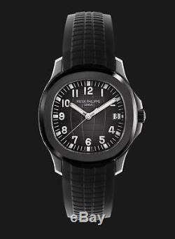 Patek Philippe 5167A Aquanaut Jumbo 40.8mm Bespoke Titan Black Edition DLC/PVD