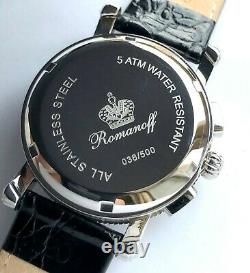 Poljot Romanoff Russian WATCH Chronograph 31681