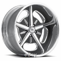 Pro Wheels HOT ROD 20 Polished Aluminum Billet Wheels Rims Foose Intro Boyd