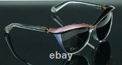 RARE NEW Genuine Christian DIOR Demoiselle 1 Black Pink Crystal Sunglasses EXMP9