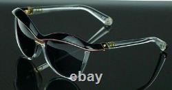 RARE NEW Genuine Christian DIOR Demoiselle 2 Black Pink Crystal Sunglasses EXKY1