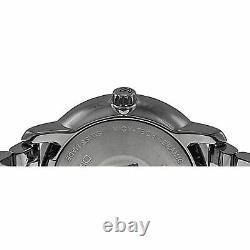 Rado R14072137 Men's Diamaster Ceramic Charcoal Quartz Watch