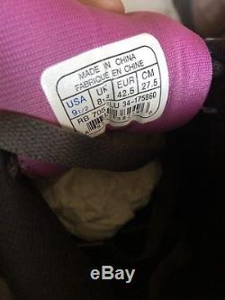 Rare! Reebok Mens Ice Cream Board Flip Black Gray Pink Sz 9 1/2