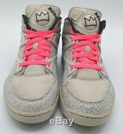 Reebok Pump Omni Lite Basquiat Salty Grey/Black/Neon Pink Rare Retro SWIZZ BEATS