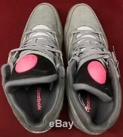 Reebok Pump Omni Lite Solebox Grey Pink Black White Steel V54095 Sz 13
