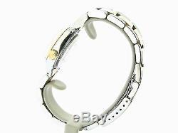 Rolex Datejust Ladies 14K Yellow Gold & Steel Watch White MOP Diamond Dial 6917