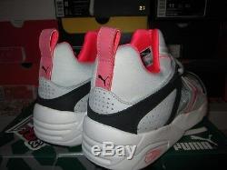 Sale Puma Blaze Of Glory Trinomic Grey Black Pink Hot Lava 357772-03