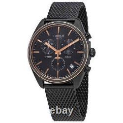 Tissot PR 100 Chronograph Black Dial Men's Watch T101.417.23.061.00