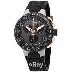 Tissot T-Race Chronograph Black Dial Men's Watch T111.417.37.441.07