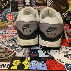 VINTAGE 2003 Nike Air Max 1 Leather'Graphite' Gray/Black/White/Pink Men's Size