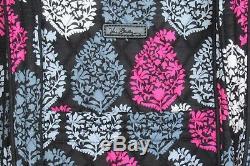 Vera Bradley Women Women's Vera Tote Bag Purse NORTHERN LIGHTS pink gray black