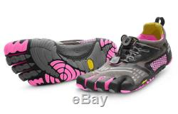 Vibram Fivefingers KMD Sport LS Grey/Black/Pink Women's US sizes 36-42 NEW