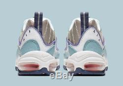 Women's Nike Air Max 98 SNAKESKIN OCEAN BLUE WHITE GREY PINK BLACK CK0832-500