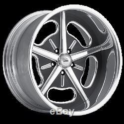 17 Pro Wheels Hot Rod Jantes De Billettes En Aluminium Poli Intro Foose Us Année De Tournée