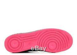 1 Faible Elephant Nike Air Force Print Supreme Black Rose Hyper Gris 488298-063