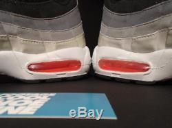 2009 Nike Air Max 95 Noir Chaud Rouge Cool Gris Infrarouge Rose 609048-065 Nouveau 12