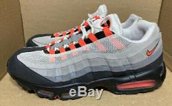 2011 Nike Air Max 95 Blanc Froid Solaire Rouge Gris Noir Rose Atmos 1 609048-106 14