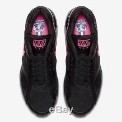 2018 Nike Air Max 180 Prm Sz 8.5 Noir Rose Blast Wolf Gris Aq9974-001