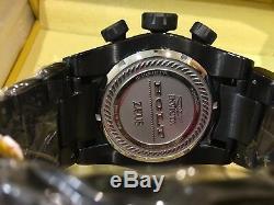 23050 53mm Bolt Zeus Invicta Tri Câble Quartz Suisse Chron Bracelet
