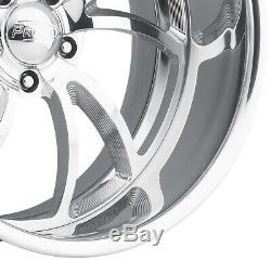 24 Jantes Pro Jantes Tordues Ss 5 Billettes Forgées En Alliage D'aluminium Intro Personnalisé Foose