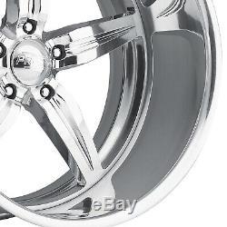26 Pro Wheels Jantes Spitfire 5 Intro Foose Mags Forgé Ligne De Billettes Aluminium