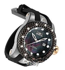 33602 Invicta Venom Subaqua Dragon Homme Mop 52mm Automatic Silicone Strap Watch
