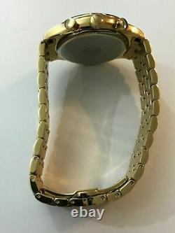 499 $ Bulova Chronographe Or-tone Acier Inoxydable Montre Homme 97b149
