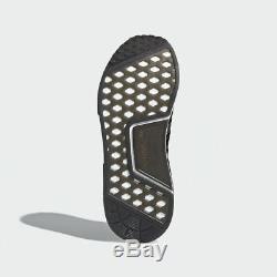 Adidas Hommes Nmd R1 Stlt Pk Core Noir / Gris / Rose Solaire Sz 14 Cq2386 Boost