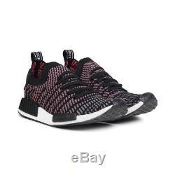 Adidas Nmd R1 Stlt Pk Primeknit Boost Haute Résolution Rose Noir Gris Cq2386 Hommes 7.5-13