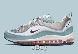 Air Femme Nike Max 98 Serpent Ocean Bleu Blanc Rose Noir Gris Ck0832-500