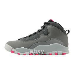 Air Jordan 10 Retro X Pink Grey Smoke Black 487211-006 2,5 Ou 8,5