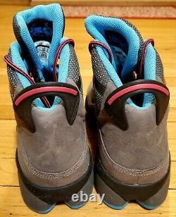 Air Jordan Winterized 6 Rings Mens Taille 12 Deux 3 Lacets Gris Noir Bleu Chaud Rose